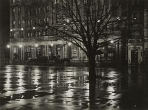 Reflections—Night (New York), 1897 by Alfred Stieglitz