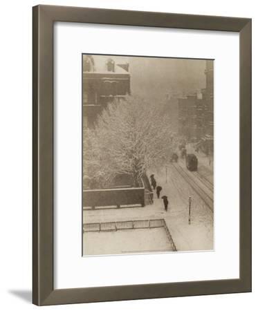 Snapshot From My Window, New York, 1907