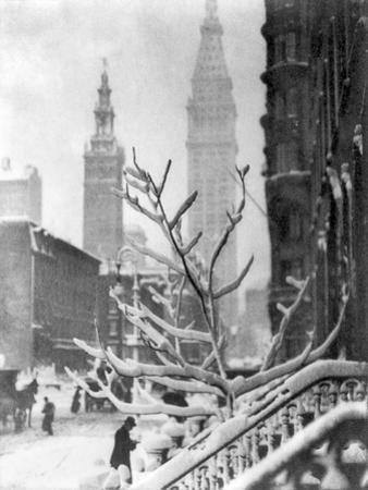 Stieglitz: New York, C1914 by Alfred Stieglitz