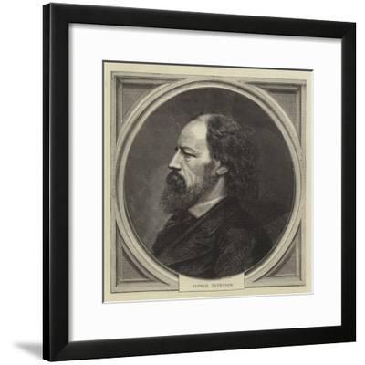 Alfred Tennyson--Framed Giclee Print