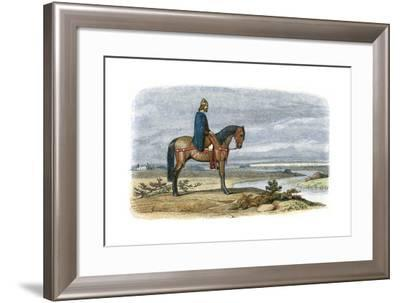 Alfred the Great (849-89), Anglo-Saxon King of Wessex from 871--Framed Giclee Print