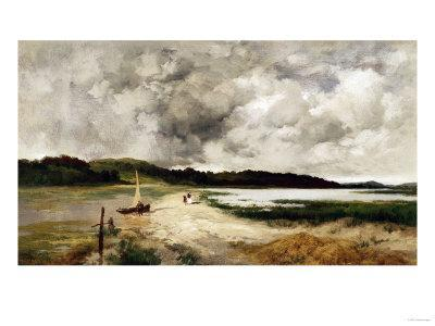 A Passing Shower on Long Island, 1885