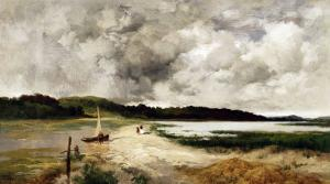 A Passing Shower on Long Island, 1885 by Alfred Thompson Bricher