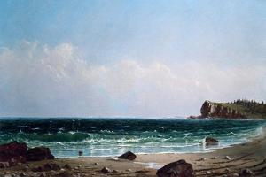 Along Newport Beach by Alfred Thompson Bricher