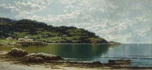 Along the Maine Coast, c.1885 by Alfred Thompson Bricher