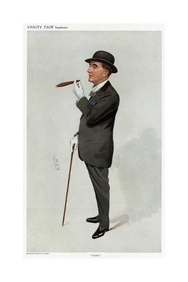 Alfred W. Cox, Vanity Fair-Leslie Ward-Giclee Print