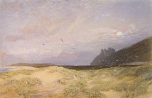 Harlech, 1862 by Alfred William Hunt