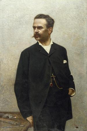 Portrait of Artist Niccolo Barabino
