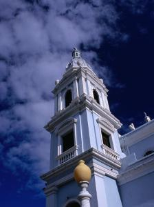 Bell Towers of Catedral Nuestra Senora De Guadelupe, Ponce, Puerto Rico by Alfredo Maiquez