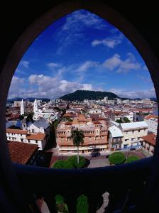 Casco Viejo Viewed Through Window, Panama City, Panama by Alfredo Maiquez