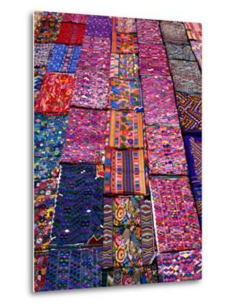 Display of Textiles, Antigua Guatemala, Guatemala