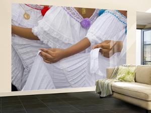 La Pollera Dresses at La Mejorana National Music Festival by Alfredo Maiquez