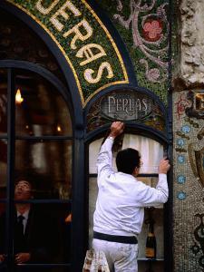 Old Pastry Shop Facade on Las Ramblas, Barcelona, Spain by Alfredo Maiquez