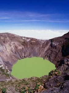 Principal Crater of Volcanic Area, Irazu Volcano National Park, Costa Rica by Alfredo Maiquez