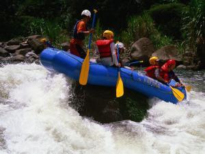 Rafting on the Chiriqui River, Panama by Alfredo Maiquez
