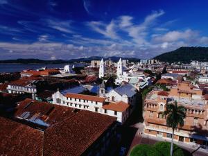 Rooftops of Casco Viejo, Panama City, Panama by Alfredo Maiquez