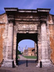 The Gate to the Fort Fortaleza De Ozama, Santo Domingo, Dominican Republic by Alfredo Maiquez