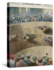 "On This London ""Wall of Death"" the Riders are Travelling Parallel to the Ground by Alfredo Ortelli"