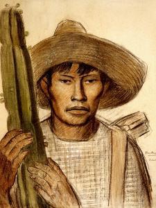 Mexican Boy with Cactus by Alfredo Ramos Martinez