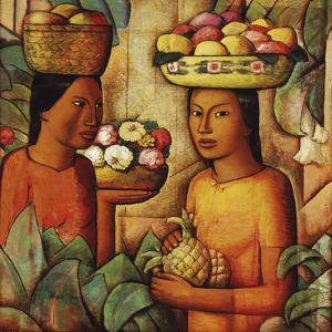 Mujeres con Frutas (Women with Fruit) by Alfredo Ramos Martinez