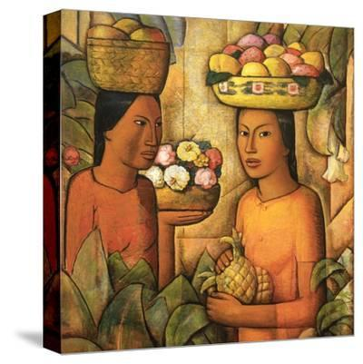 Mujeres Con Frutas