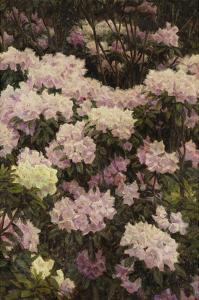 Rhododendrons by Alfrida Vilhelmine Ludovica Baadsgaard