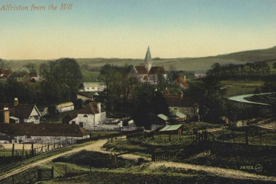 Alfriston, Sussex--Photographic Print