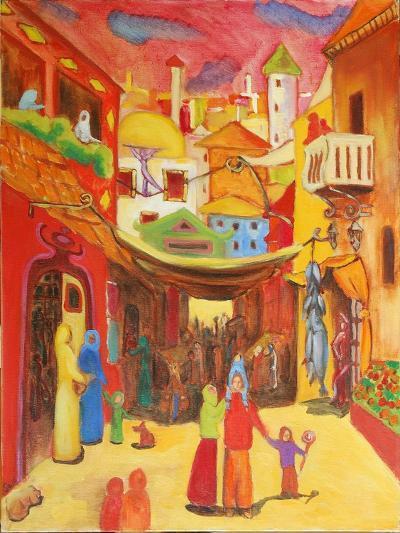 Alger, 2004-Sabina Nedelcheva-Williams-Giclee Print