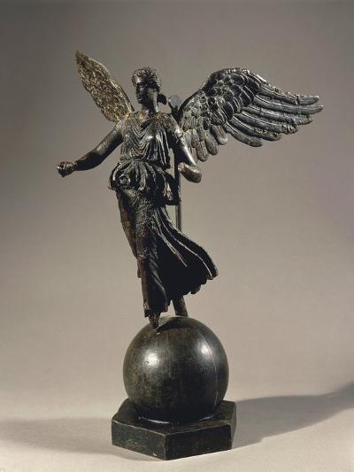 Algeria, Constantine, Silvered Bronze Winged Victoria--Giclee Print