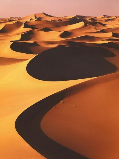 Algeria, Sahara, Great Western Erg, Oasis-Thonig-Photographic Print