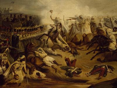 Algerian Counterattack at Constantine During Colonial Wars, November 1837--Giclee Print