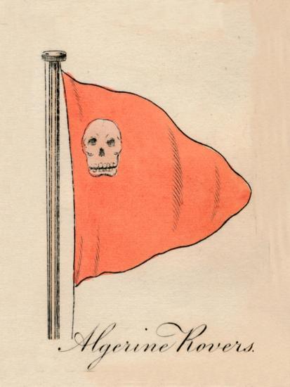 'Algerine Rovers', 1838-Unknown-Giclee Print