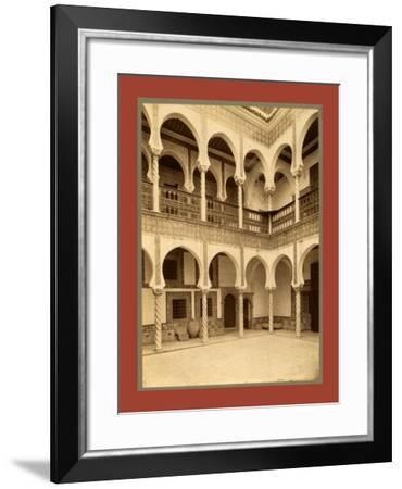 Algiers Court-Etienne & Louis Antonin Neurdein-Framed Giclee Print