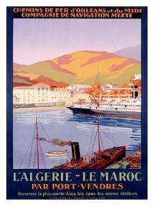Algiers to Morocco
