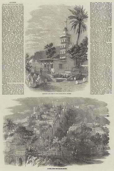 Algiers--Giclee Print