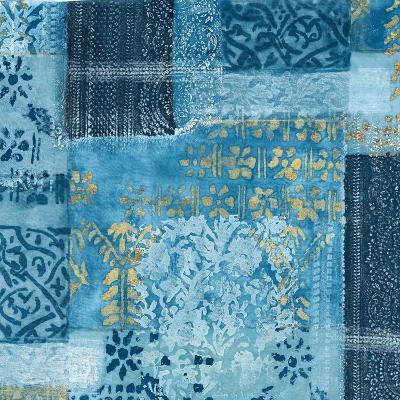 Alhambra III Indigo-Hugo Wild-Art Print