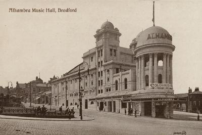 Alhambra Music Hall, Bradford--Photographic Print