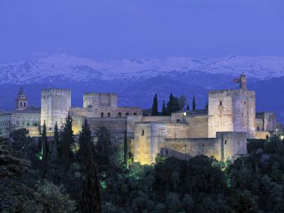 Alhambra Palace, Granada, Andalucia, Spain-Gavin Hellier-Photographic Print