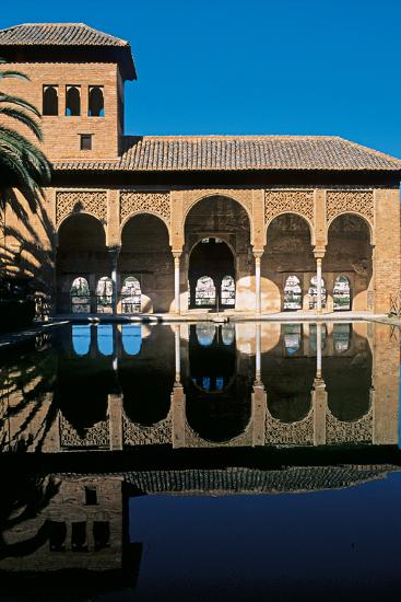 Alhambra, Palace of the Partal, 14th Century--Photographic Print