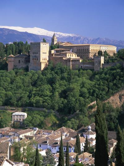 Alhambra Palace, UNESCO World Heritage Site, Granada, Andalucia, Spain, Europe-Gavin Hellier-Photographic Print
