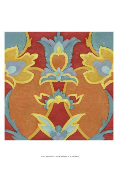 Alhambra Pattern I-Chariklia Zarris-Art Print
