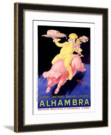 Alhambra Pork Bacon Sausage-Henry Le Monnier-Framed Giclee Print