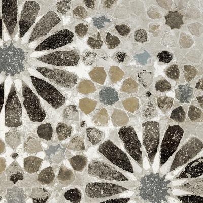 Alhambra Tile II Neutral-Sue Schlabach-Art Print