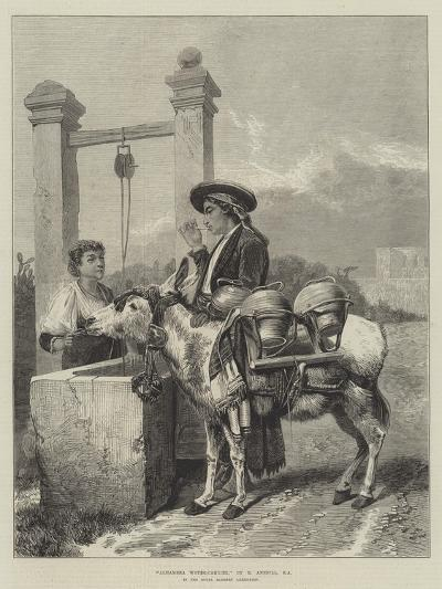 Alhambra Water-Carrier-Richard Ansdell-Giclee Print
