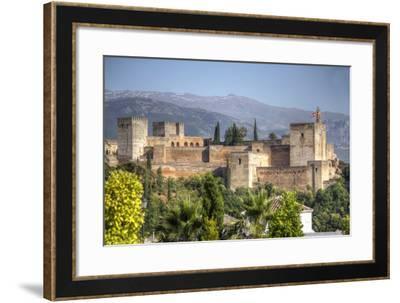 Alhambra-silvana magnaghi-Framed Photographic Print