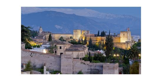 Alhambra-Charles Bowman-Photographic Print