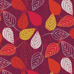 Red Fall VIII by Ali Benyon