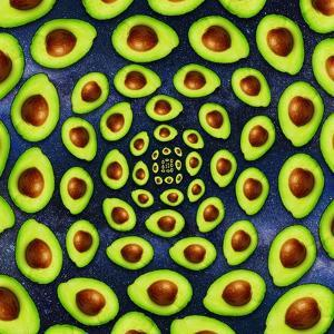 Avocado Spiral by ALI Chris