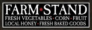 Farm Stand Wooden Sign by ALI Chris