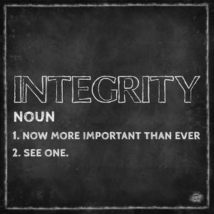 Integrity final by ALI Chris